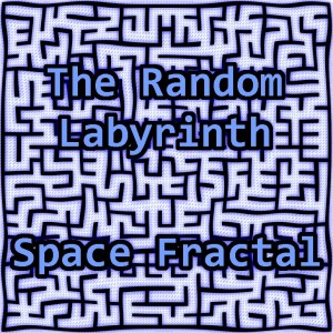 The Random Labyrinth Space Fractal